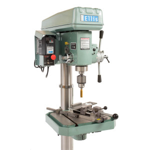 Ellis 9400 Drill Press with Chuck and Vise