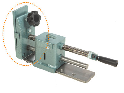 Pipe Clamp Attachment with Screw Type Vise